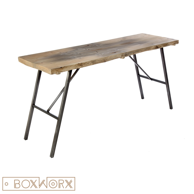 Boxworx meubels bureau stork industrieel designboxworx for Bureau 40 cm diep