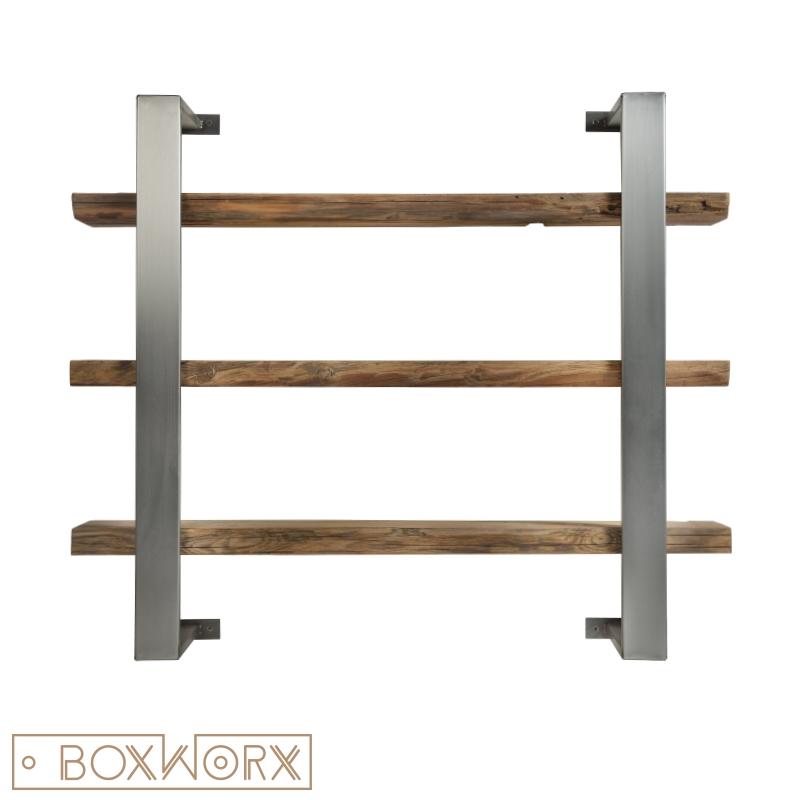 Vaak BoxWorx | Meubels | Kasten en kastjes - Wandkast FIRM [blank staal TG58