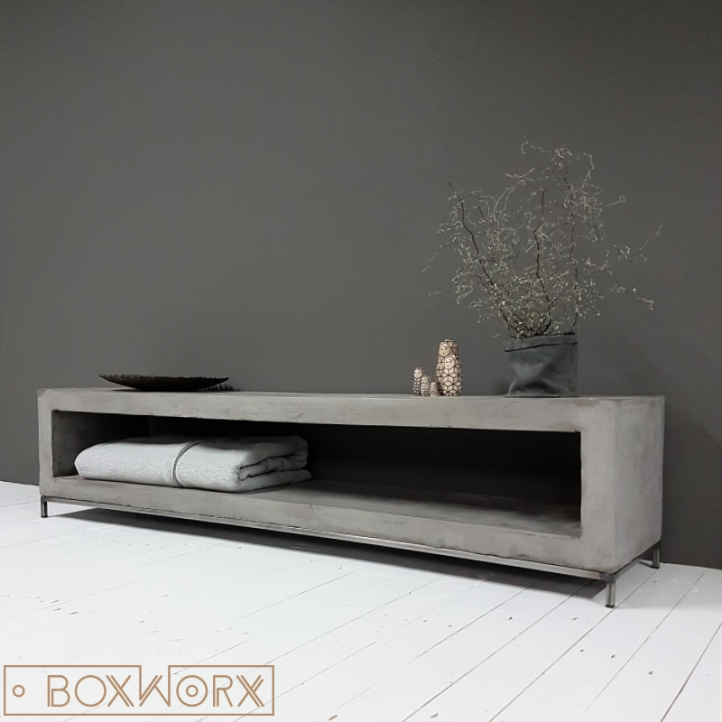 Tv Kast Meubilair.Beton Tv Meubel Meuble Gallery Collection