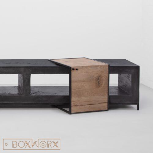 overzettafel hout