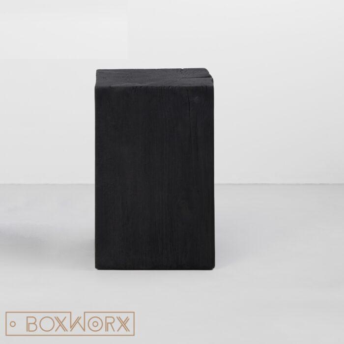tronc houtblok zwart