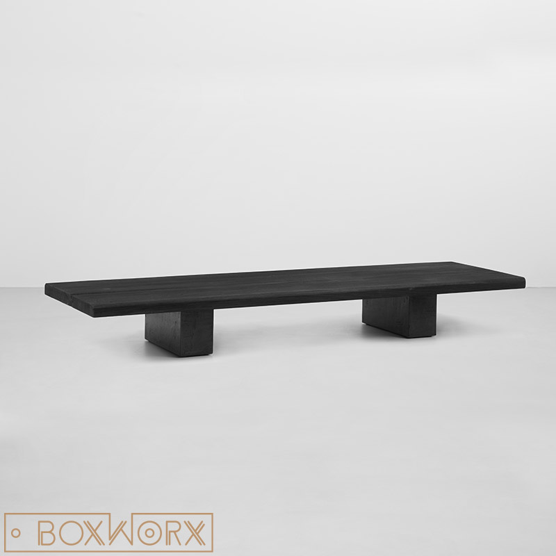 salontafel brant zwart