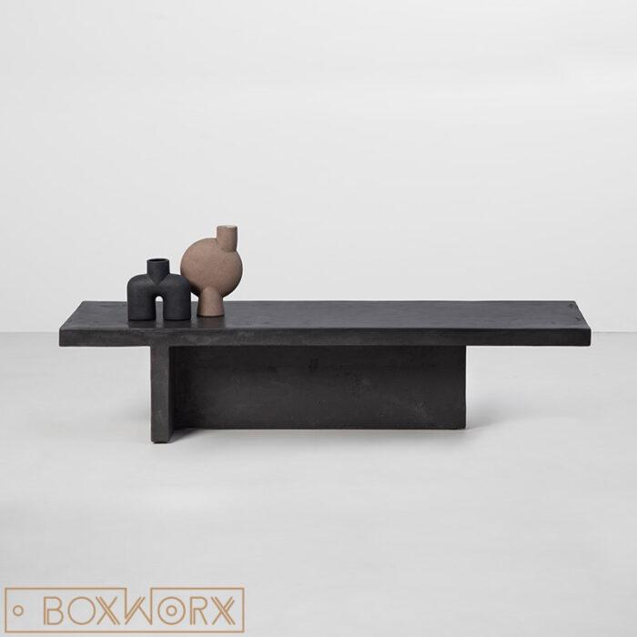 salontafel cube beton