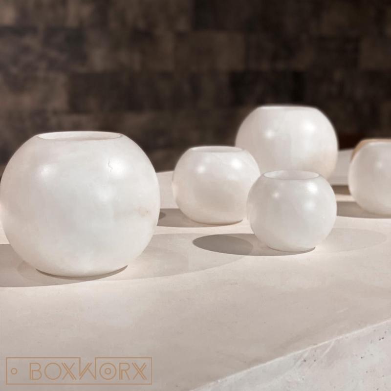 albast candleholder