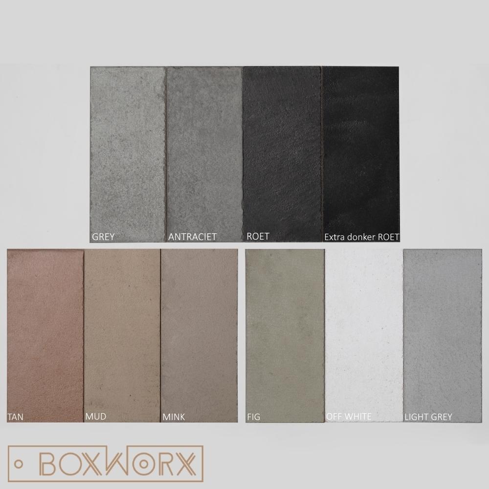 kleuren beton